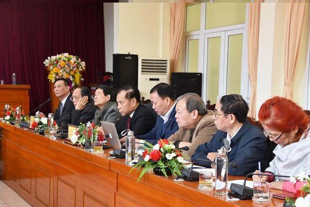 Đoàncông tác Hội đồng tư vấn Đối ngoại và Kiều bào UBTƯ MTTQ Việt Nam khảo sát tại Vĩnh Phúc.