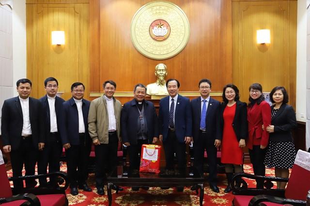Tòa Giám mục Lạng Sơn – Cao Bằng chúc Tết UBTƯ MTTQ Việt Nam.