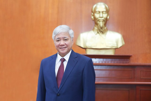 Bí thư Trung ương Đảng, Chủ tịch UBTƯ MTTQ Việt Nam Đỗ Văn Chiến.