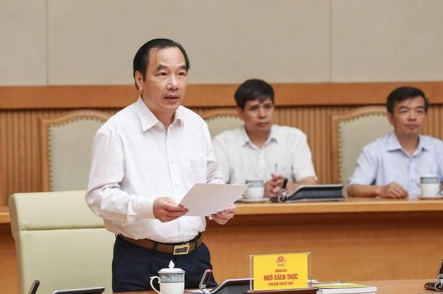 Phó Chủ tịch UBTƯ MTTQ Việt Nam Ngô Sách Thực.
