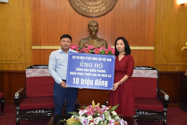 Tiếp nhận ủng hộ từTạp chí điện tử Bất động sản Việt Nam.