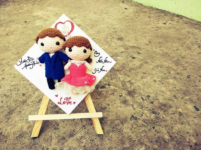 Sản phẩm búp bê cưới được ưa chuộn trên thị trường trong nước và quốc tế