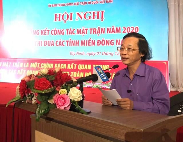 Ông Bùi Quang Huy.