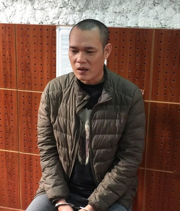 Đối tượng Ngô Văn Quang.