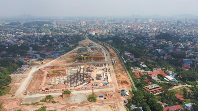 Toàn cảnh dự án nhìn từ trên cao.