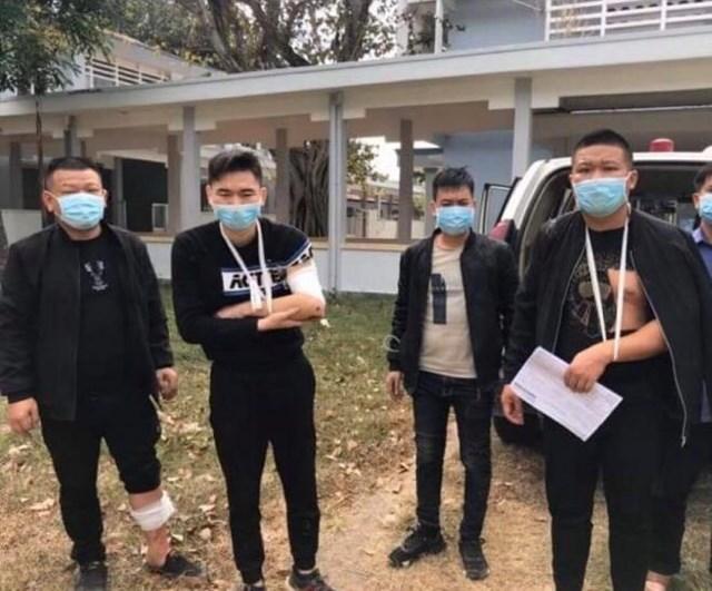 Nhóm công dân Trung Quốc khác nhập cảnh trái phép được phát hiện trước đó.