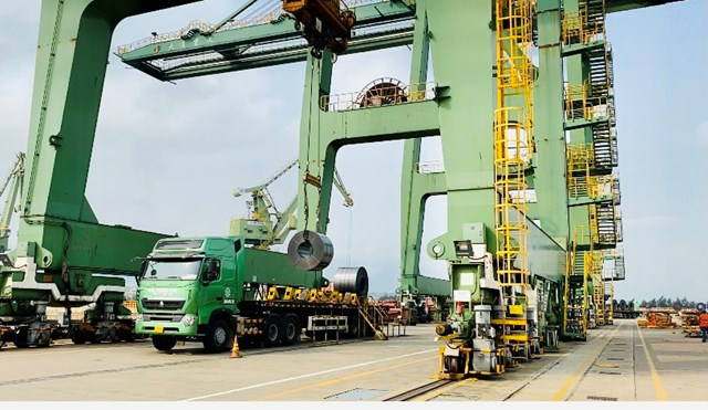 Hoạt động sản xuất kinh doanh vẫn diễn ra ổn định, phát triển tại Formosa Hà Tĩnh.