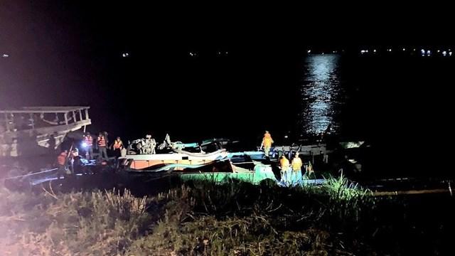 Khu vực xảy ra vụ rút súng tự chế bắn vào thuyền đối phương để tranh dành khu vực đánh cá.