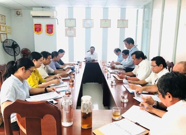 Đoàn giám sát làm việc tại, Chi cục An toàn vệ sinh thực phẩm tỉnh Khánh Hòa.