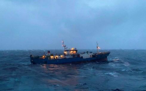Tàu SOKOL (quốc tịch Nga), gặp nạn trên biển.