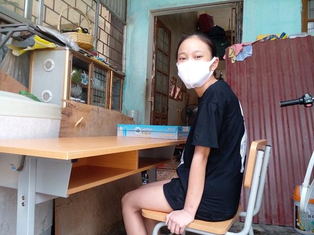 Ước mơ lớn nhất của em Đỗ Nguyễn Thị Ngọc Ngân là có một chiếc máy vi tính để học tập.