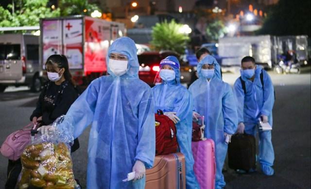 Người dân, người lao động rời TPHCM về quê. Ảnh: CTV