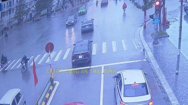 Các lỗi vi phạm giao thông sẽ bị camera ghi lại