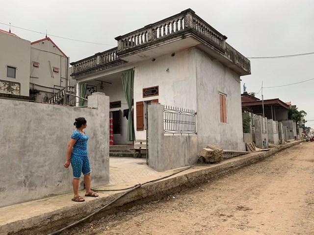 {ẢNH}Nam Định: Giáo dân dỡ nhà hiến đất mở đường - Ảnh 1