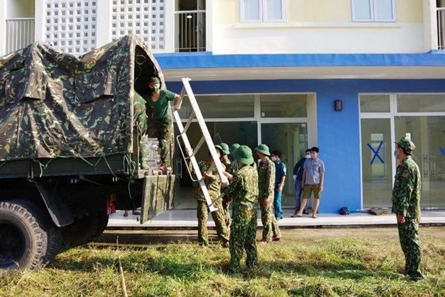 Quân đội đã được tỉnh Hà Nam huy động để phục vụ công tác phòng, chống dịch