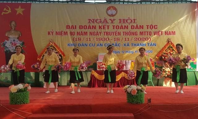 Ngày hội Đại đoàn kết toàn dân ở Thái Bình.