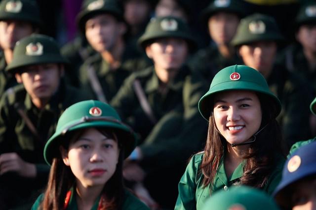 Điểm chuẩn trúng tuyển vào khối trường quân đội 2021 cao nhất là 29,44 điểm (ảnh TL)
