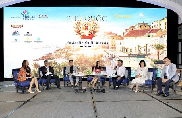 Các chuyên gia đều đánh giá cao triển vọng của BĐS gắn với du lịch, nghỉ dưỡng ở Nam Phú Quốc