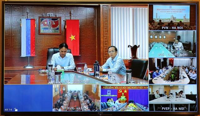 Hội nghị trực tuyến tại các điểm trong toàn quốc.