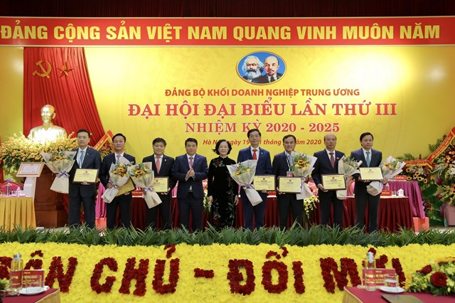 Đảng bộ PVN: Tổ chức gắn biển 2 công trình chào mừng Đại hội Đảng lần thứ 13