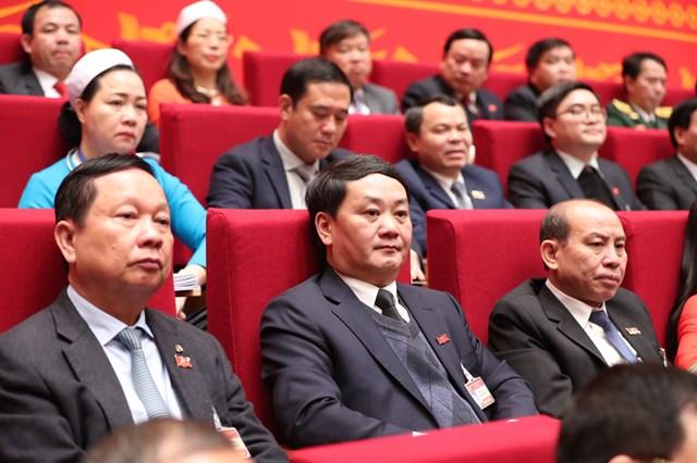 Đoàn đại biểu đảng ủy khối các cơ quan trung ương dự Đại hội