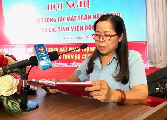 Bà Phạm Thị Bích Hà.