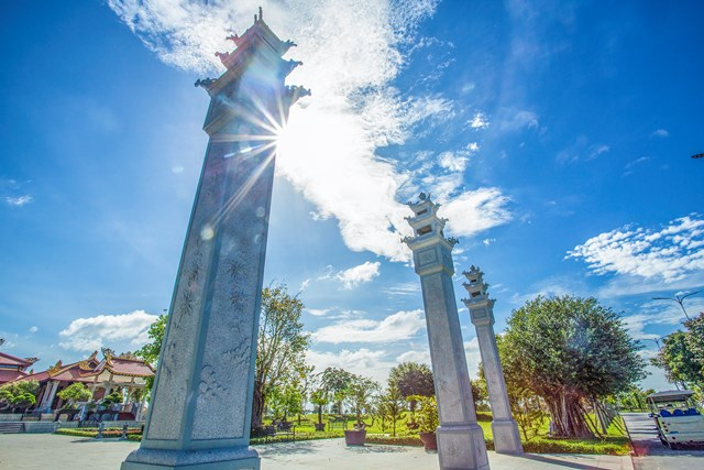Cận cảnh hoa viên nghĩa trang hơn 2.000 tỷ đồng - Ảnh 3