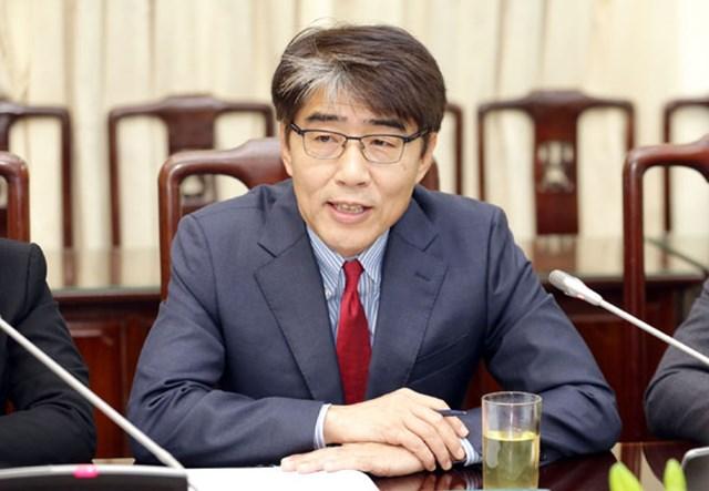 Tiến sĩ Chang-Hee Lee, Giám đốc Tổ chức Lao động quốc tế (ILO) Việt Nam. (Nguồn: Sưu tầm)
