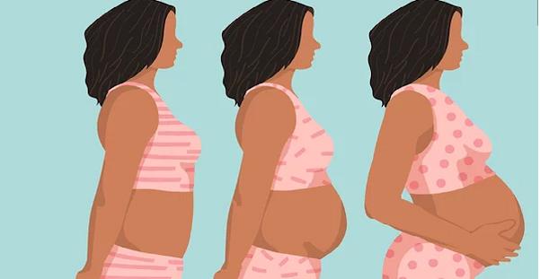 Bà bầu mỗi giai đoạn thai kỳ khác nhau cần lưu ý chăm sóc sức khoẻ khác nhau. (Ảnh minh hoạ).