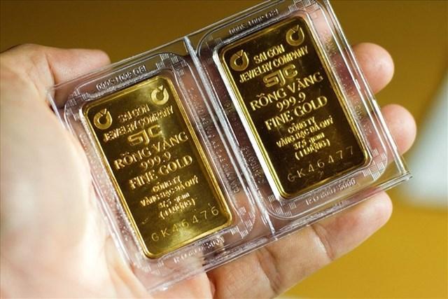 Nhiều chuyên gia tài chính đánh giá lạc quan về đà tăng của giá vàng. (Ảnh minh hoạ)