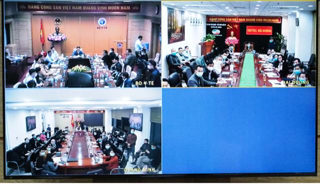 Cuộc họp khẩn về việc phòng, chống dịch Covid-19 tối ngày 27/1.