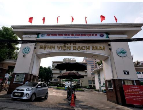 Bệnh viện Bạch Mai. Nguồn: Nam Trần.