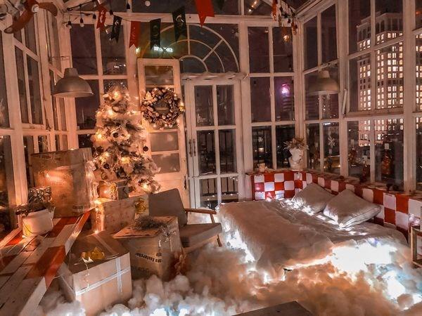 Không gian decor dịp Noel của Sam. (Nguồn: FBNV).