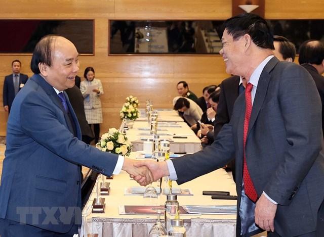 [ẢNH]Thủ tướng dự Hội nghị triển khai kế hoạch năm 2021 ngành Công Thương - Ảnh 2