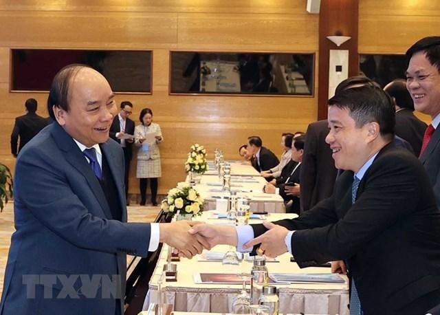 [ẢNH]Thủ tướng dự Hội nghị triển khai kế hoạch năm 2021 ngành Công Thương - Ảnh 4
