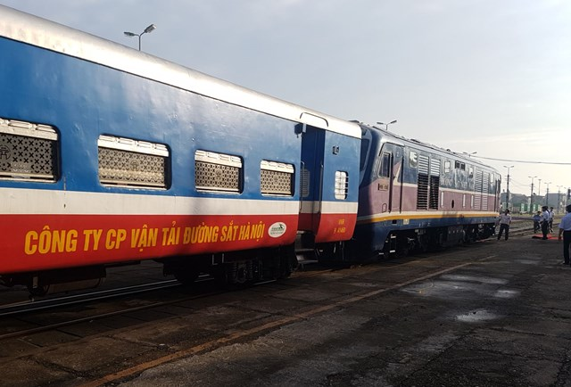 Năm 2020, số lượt hành khách giảm xuống mức thấp nhất trong lịch sử của ngành đường sắt. Ảnh: Quang Vinh.