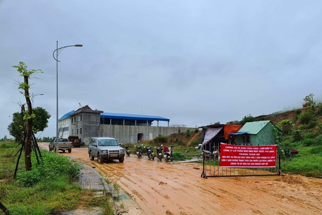 Quảng Nam: Nhà máy nước bị chủ nợ đòi niêm phong - Ảnh 1
