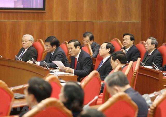 Hình ảnh khai mạc Hội nghị lần thứ 15 Ban Chấp hành Trung ương Đảng - Ảnh 4