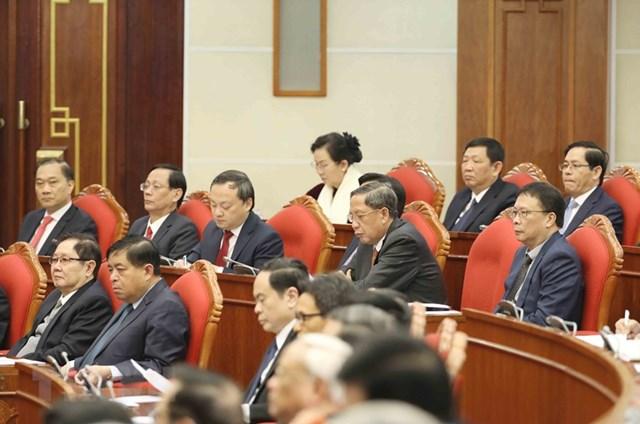 Hình ảnh khai mạc Hội nghị lần thứ 15 Ban Chấp hành Trung ương Đảng - Ảnh 5