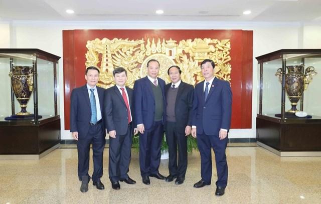Các đồng chí Ủy viên Trung ương dự hội nghị. Ảnh: Phương Hoa/TTXVN.