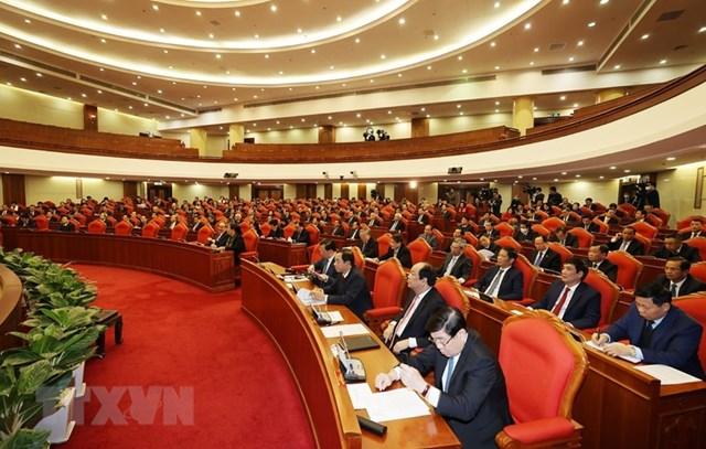 Hình ảnh khai mạc Hội nghị lần thứ 15 Ban Chấp hành Trung ương Đảng - Ảnh 1