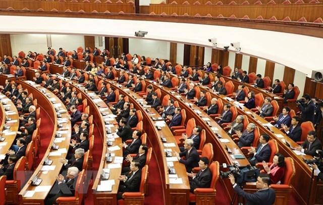 Khai mạc trọng thể Hội nghị lần thứ 15 Ban Chấp hành Trung ương Đảng - Ảnh 1