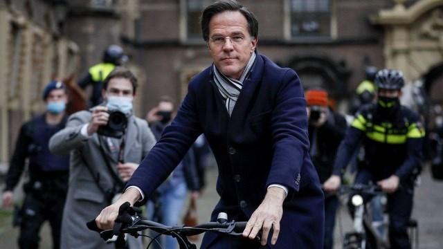 Thủ tướng Hà Lan Mark Rutte. Ảnh: AFP.