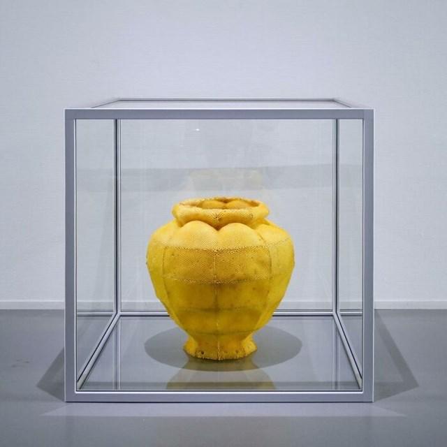 [ẢNH] Độc đáo tượng điêu khắc từ sáp ong - Ảnh 5