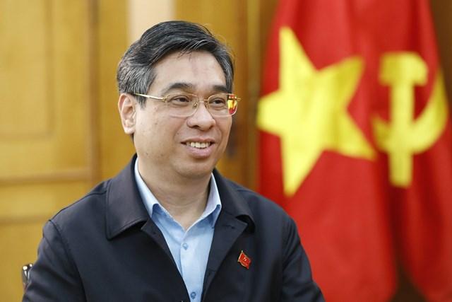 Ông Nguyễn Phước Lộc Ảnh: Quang Vinh.