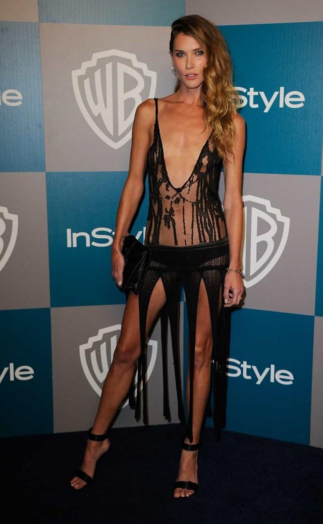 Erin Wasson tại bữa tiệc InStyle, sau lễ trao giải Quả cầu vàng 2012.