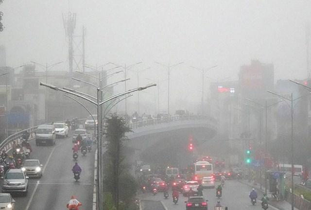 Ngày 25/1, Bắc Bộ có mưa và sương mù - Ảnh 1