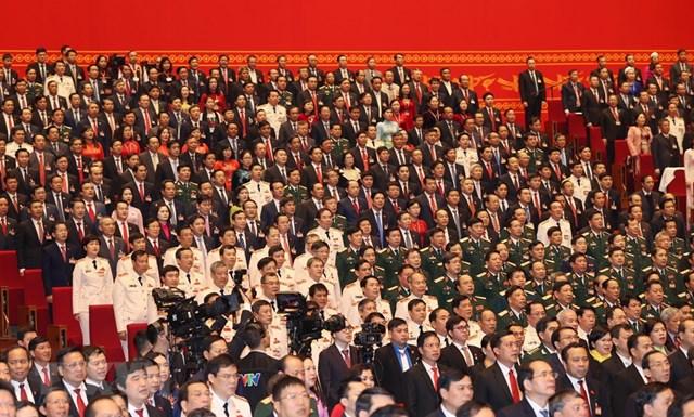 Đại biểu tham dự phiên khai mạc Đại hội. Ảnh: TTXVN.