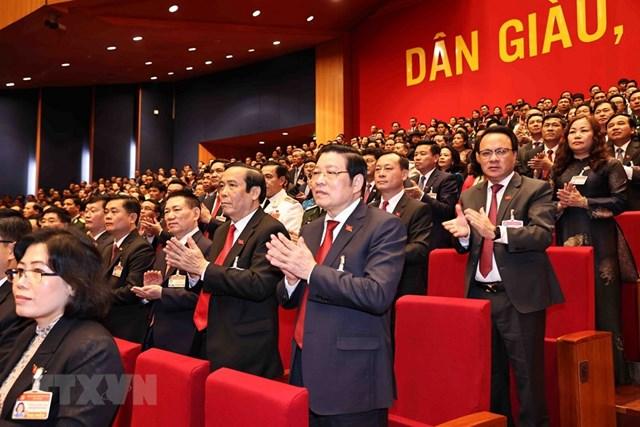[ẢNH] Hình ảnh lễ khai mạc trọng thể Đại hội lần thứ XIII Đảng - Ảnh 4