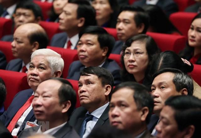 [ẢNH] Hình ảnh lễ khai mạc trọng thể Đại hội lần thứ XIII Đảng - Ảnh 5